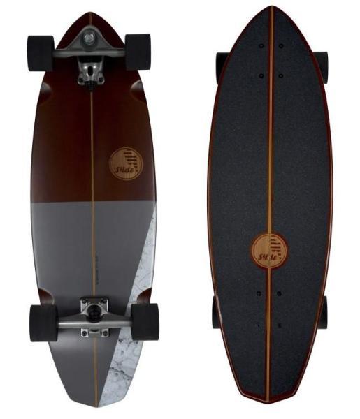 Slide Surfskateboard Diamond Koa 32″
