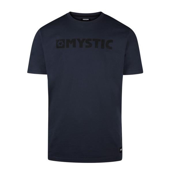 Mystic Brand Tee - Night Blue bei brettsport.de