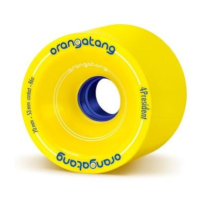 Orangatang 70mm Wheel 86a Gelb
