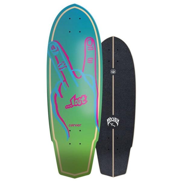 "Carver Lost X Plank 31"" Surfskate Deck"