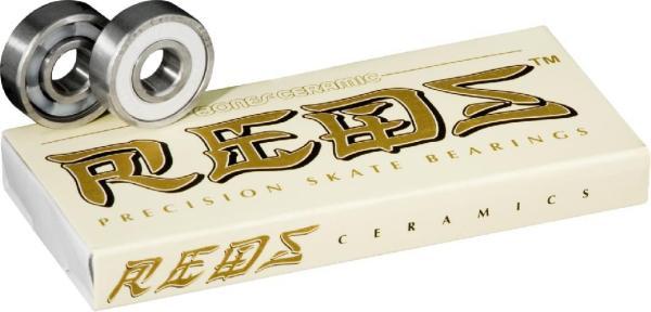 Bones® Ceramic Super REDS® Skateboard Bearings 8er Pack