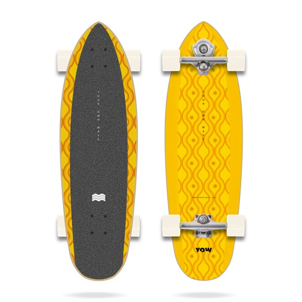 Yow J-BAY 33″ Power Surfing Series - Surfskate Complete