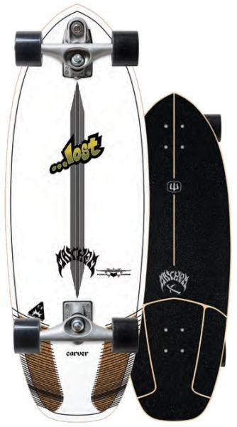 """Carver x Lost Puddle Jumper 30.5"""" Surfskate Complete"""