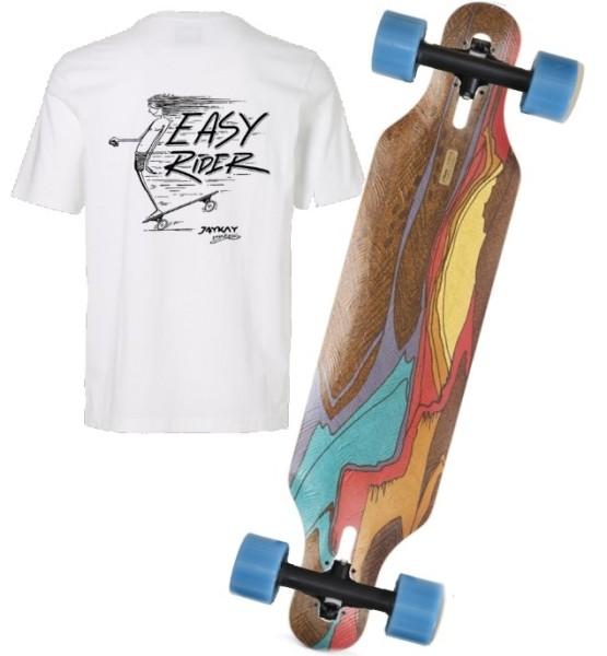JayKay X Loaded Icarus Elektro Longboard