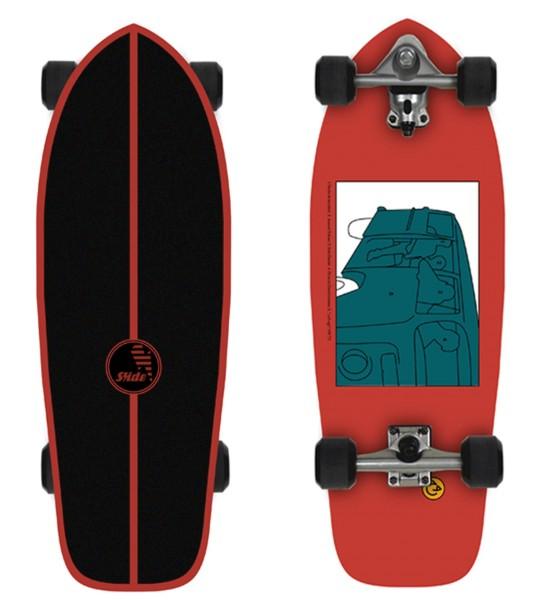 """Slide Surfskateboard Heritage 30"""""""