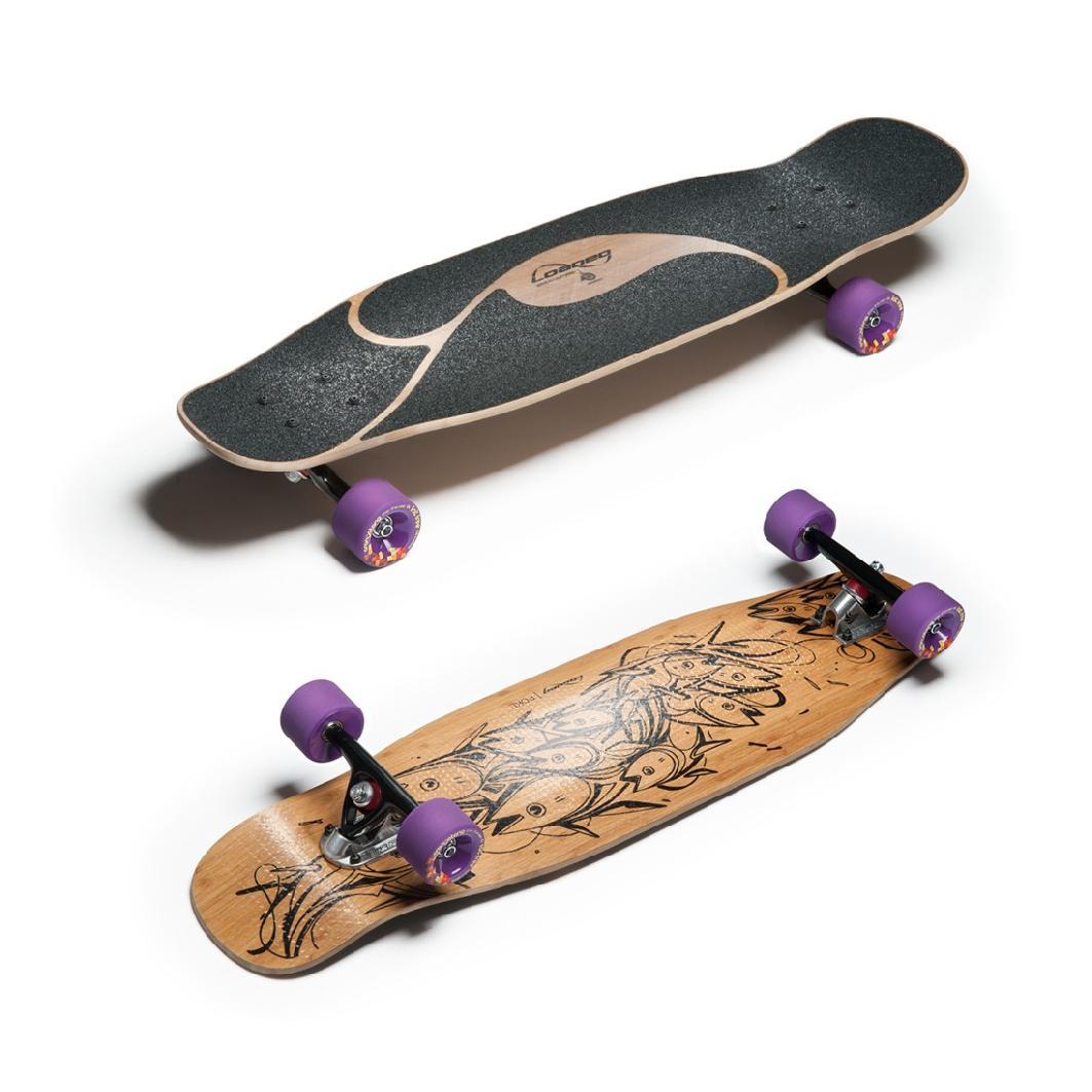 ridge retro skateboard mini cruiser lila 22 zoll wpb 22 pro. Black Bedroom Furniture Sets. Home Design Ideas