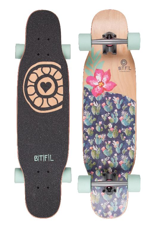 btfl vicky longboard longboards f r kinder longboard. Black Bedroom Furniture Sets. Home Design Ideas