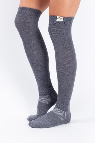 EIVY Rib Overknee Wool Socks
