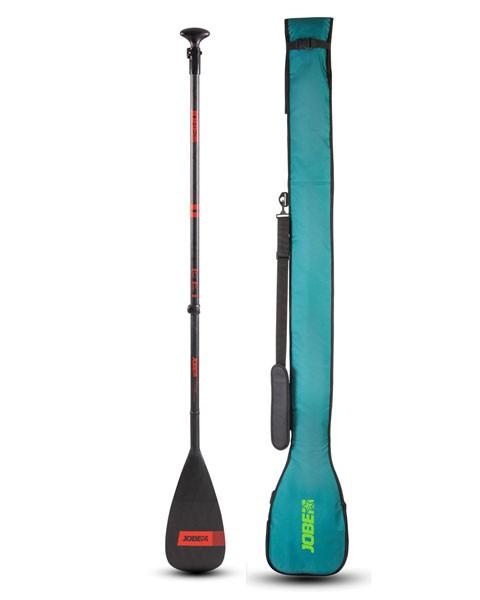 Jobe SUP Paddel Carbon Pro 3-teilig + SUP Paddle Bag
