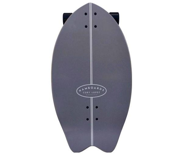 "Hamboards Twisted Fin 26"" Surf Skate Complete Birch - Pastel bei Brettsport.de"
