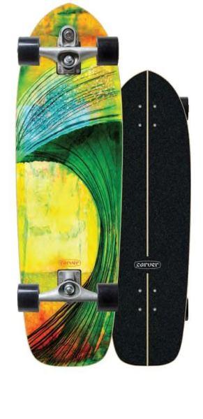 Carver Green Room Surfskate Complete