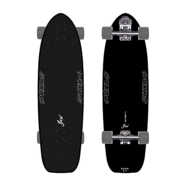 "Yow PUKAS DARK 34.5"" Surfskate Complete"