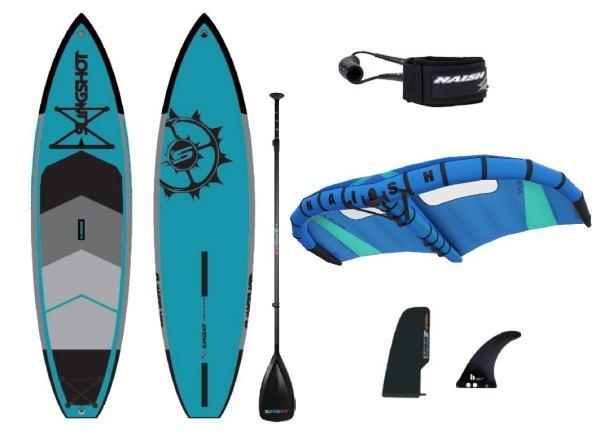 "Slingshot Crossbreed 11"" X Naish Wing Surfer Einsteigerset"