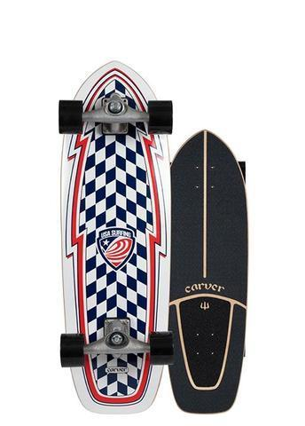 "Carver USA Booster 30.75"" Surfskate CX 2020"
