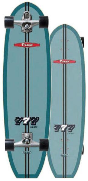 Carver Tyler 777 Surfskate Complete