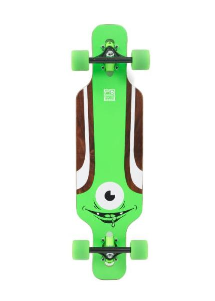 Solid Eye Kids Longboard Complete green