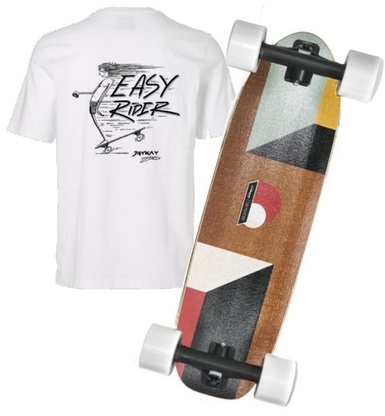 JayKay X Loaded Truncated Tesseract Elektro Longboard