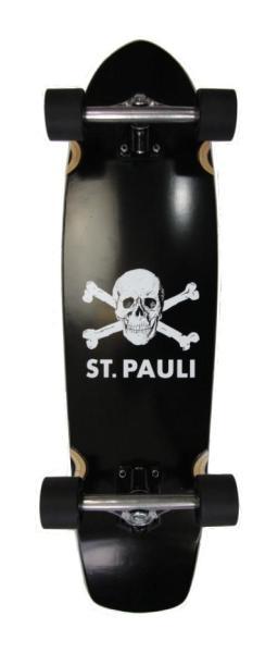 St. Paui Komplett Longboard Cruiser
