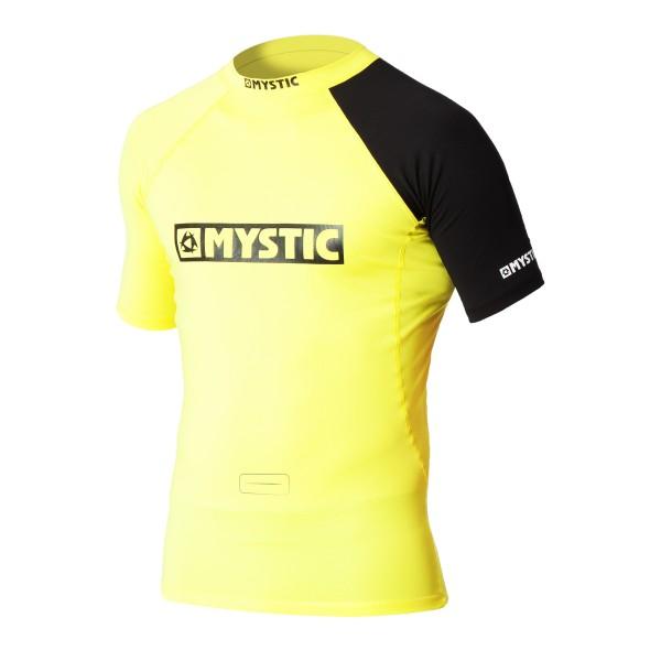 Mystic Event S/S Rashvest Chest Logo - Yellow bei brettsport.de