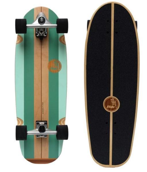 "Slide Surfskates Board Gussie Avalanche 31"""