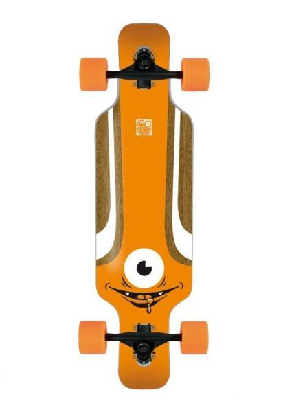 Solid Kids Eye Komplett Longboard