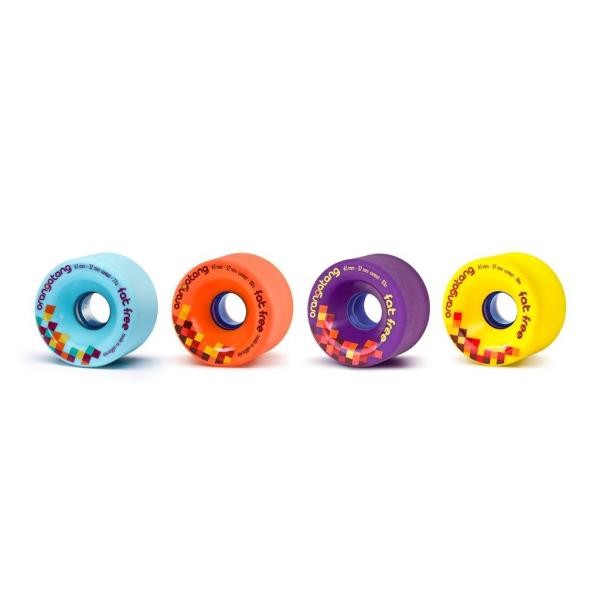 Orangatang Fat Free 65mm Set