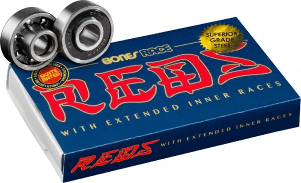 Bones® Race REDS® Skateboard Bearings 8er Pack