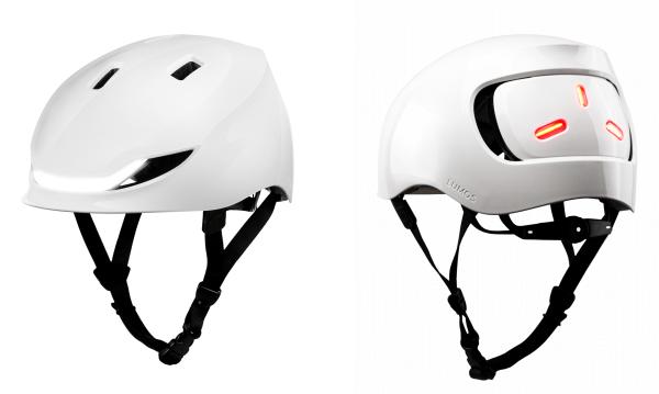 Lumos Street Helm Jet White