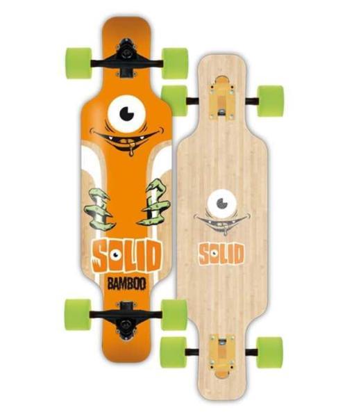 Solid Kids Eye Bamboo Komplett Longboard