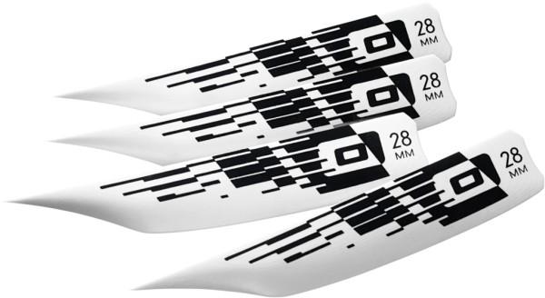 CORE BOLT Equalizer Fin BLISTER 4pcs 28mm scr+wash