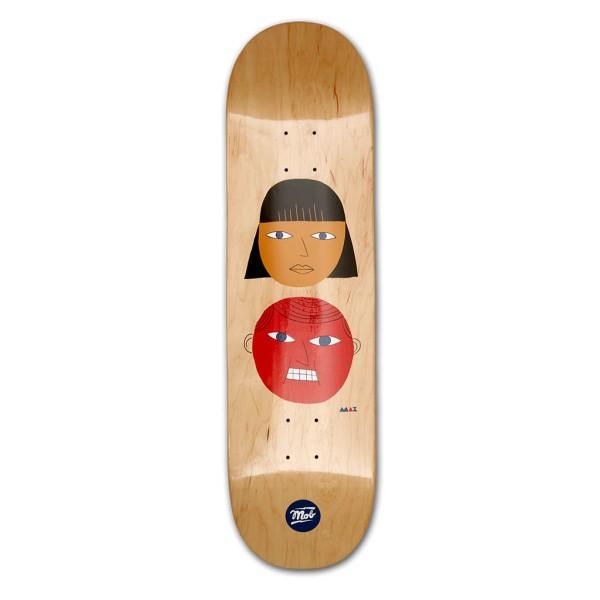 MOB Skateboards Two Heads Komplettboard - 8,5