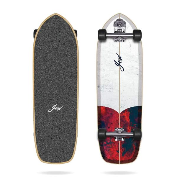 "Yow CHICAMA 33"" Surfskate Complete"