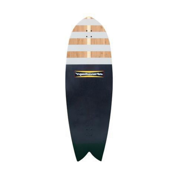 """Hamboards Fish 53"""" Bamboo River Jetties Surf Skate Complete"""