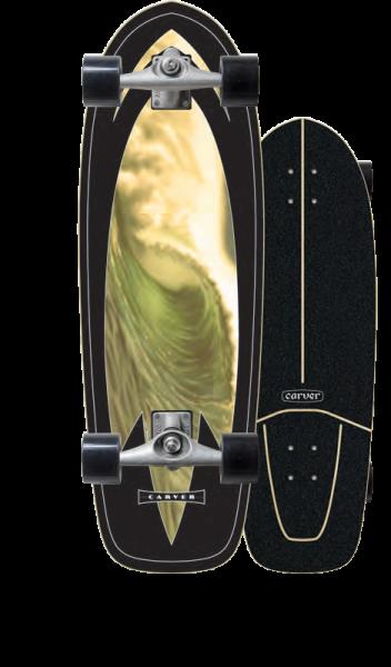 Carver Super Slab Surfskate Complete
