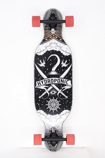 Hydroponic Kids Longboard Pirate