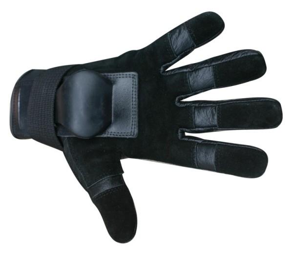 MBS HILLBILLY Wrist Guard GLoves - Black - Full Finger