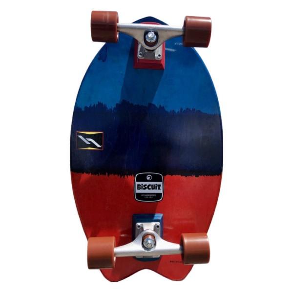 "Hamboards Biscuit Shortboard 24"" Surf Skate Complete Bomb Pop bei Brettsport.de"