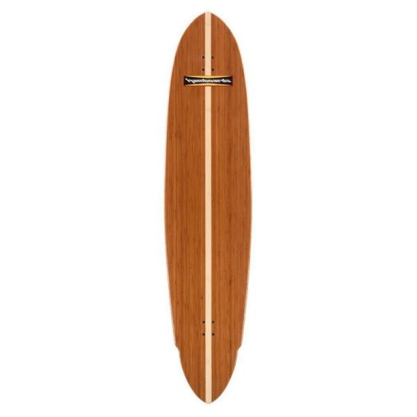 """Hamboards Pinger 67"""" Surf Skate Complete New Bamboo Natural bei Brettsport.de"""