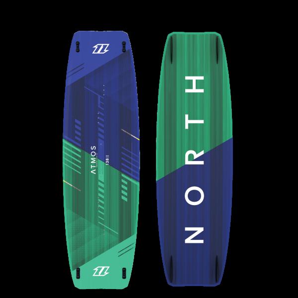 North Atmos Hybrid TT Board - Ocean Blue / North Green bei brettsport.de
