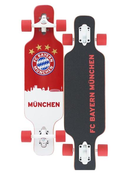 fc bayern m nchen kinder longboard complete einsteiger. Black Bedroom Furniture Sets. Home Design Ideas
