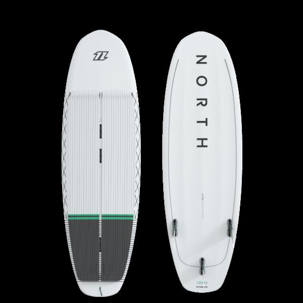 North Cross Surfboard - White bei brettsport.de