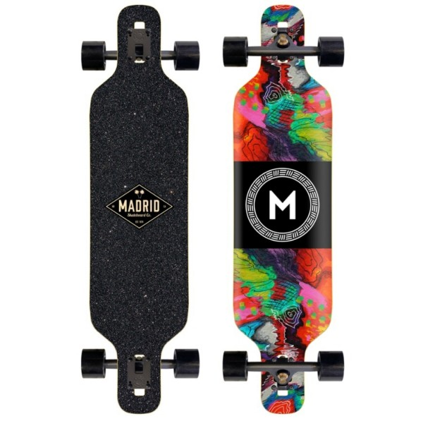 """Madrid Abstract Trance 40"""" Longboard Complete"""