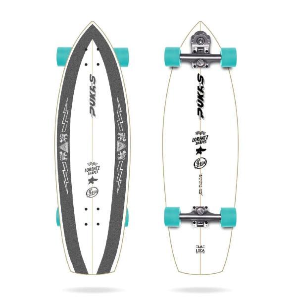 """Yow PUKAS LA LOCA 31.5"""" Surfskate Complete"""