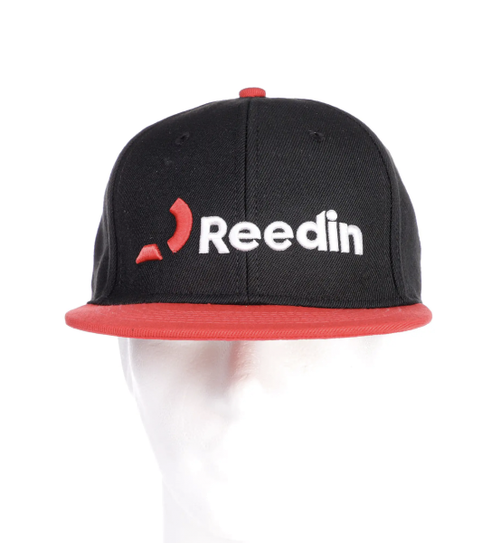 REEDIN Reedin Logo Cap Red Black
