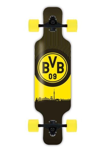 BVB Dortmund Kinder Longboard Complete