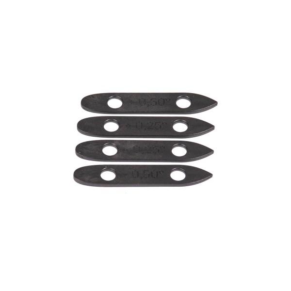 Fanatic Foil Wedge Set (4pcs) mixed black bei brettsport.de