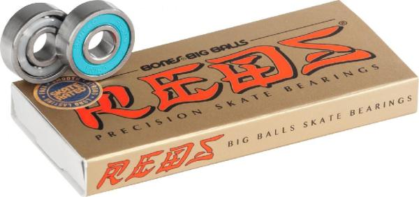 Bones® BIG BALLS™ REDS® Skateboard Bearings 8er Pack
