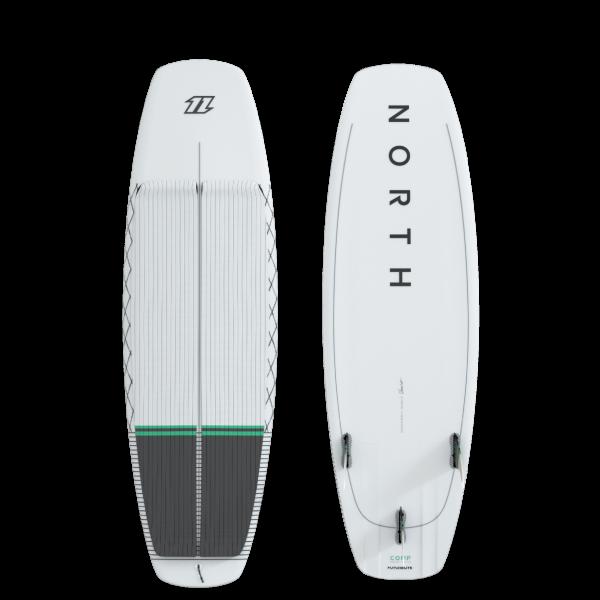 North Comp Surfboard - White bei brettsport.de