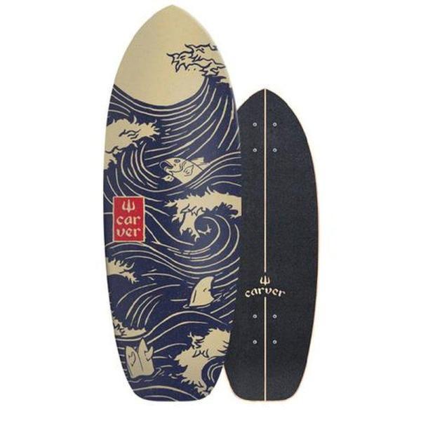 """Carver Snapper Surfskate 28"""" Deck only"""