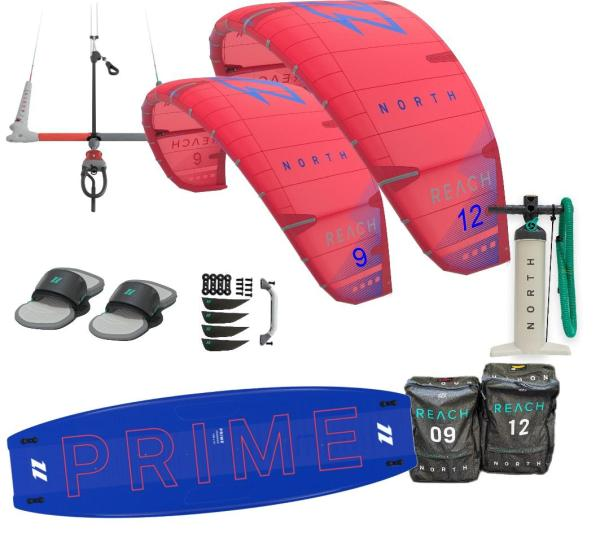 NORTH Kiteboarding Einsteigerset brettsport.de